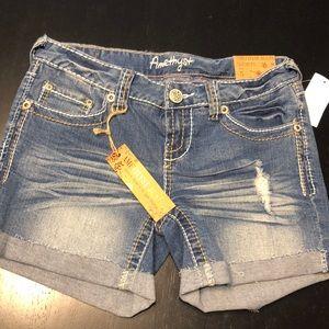 Brand mew Amethyst shorts